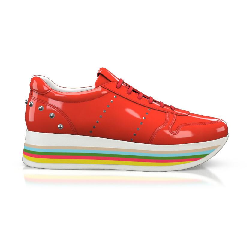 Sohlen in Regenbogenfarben 5008