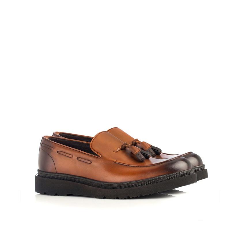 Slip-on-Schuhe für Herren Luigi Cognac