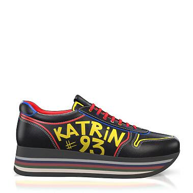 Benutzerdefiniert bemalte damen Sneakers 12056
