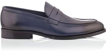 Penny Loafers für Männer Roberto Blau