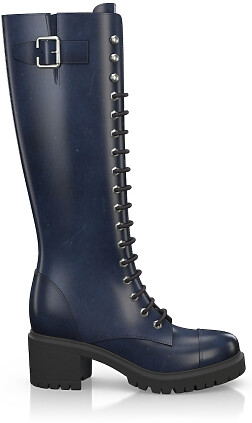 Knee High Schnürstiefel 3276-18