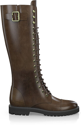 Knee High Schnürstiefel 3273