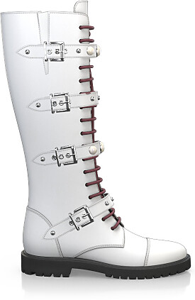 Knee High Schnürstiefel 3883-47