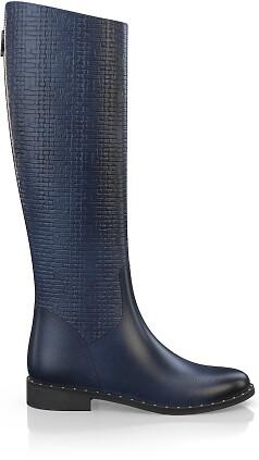 Geprägte Boots 3832