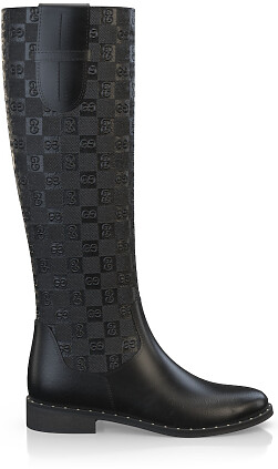 Geprägte Boots 3839