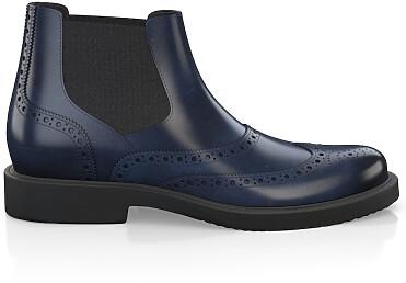 Brogue Ankle Boots für Herren 3889