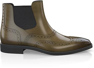 Brogue Ankle Boots für Herren 3894