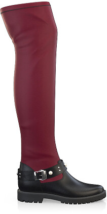 Stretch Overknee Stiefel 3975