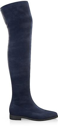 Stretch Overknee Stiefel 1839