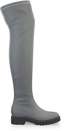 Stretch Overknee Stiefel 1841