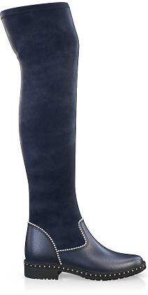Stretch Overknee Stiefel 4050