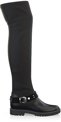 Stretch Overknee Stiefel 4051