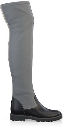 Stretch Overknee Stiefel 4132