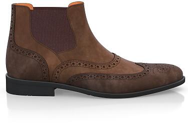 Brogue Ankle Boots für Herren 1874