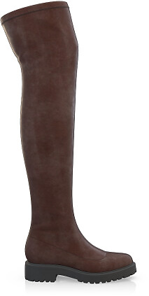 Stretch Overknee Stiefel 1919