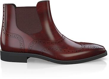 Brogue Ankle Boots für Herren 5493