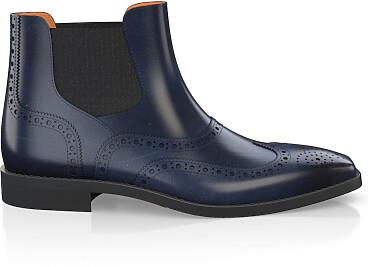 Brogue Ankle Boots für Herren 5900