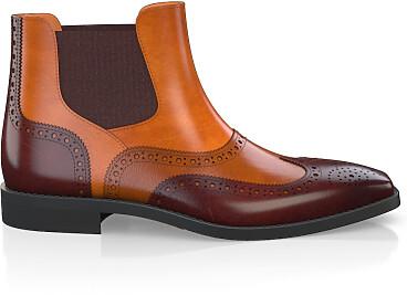 Brogue Ankle Boots für Herren 5901