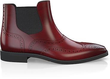 Brogue Ankle Boots für Herren 5902