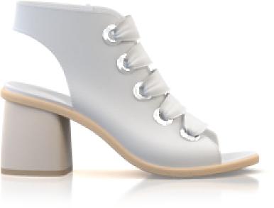 Peep-toe Sandals