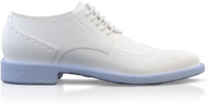 Asymmetrische Männer-Schuhe