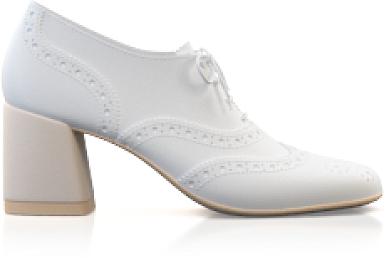 Schuhe mit quadratischem Absatz