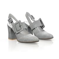 Block Heel Classic Shoes