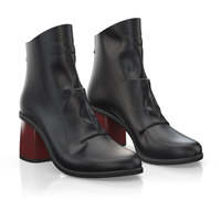HEELED ANKLE BOOTS 5482