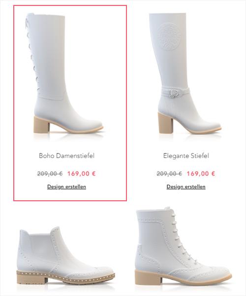 Create boho boots