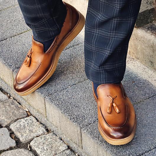 Loafers und Mokassins