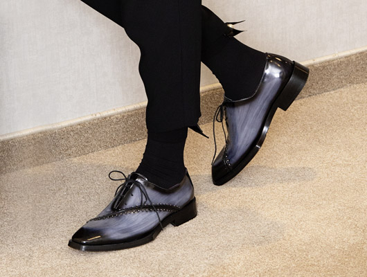 Woman's Oxford shoes