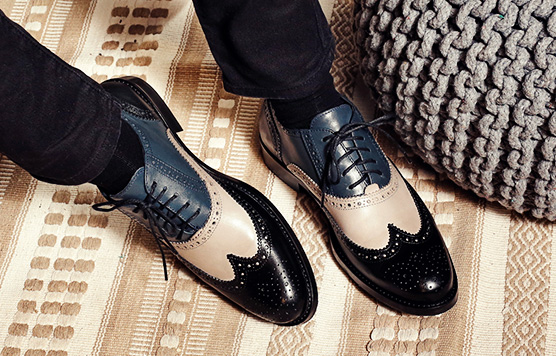 MEN`S DERBY SHOES 5495