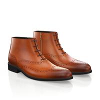MEN'S BROGUE ANKLE BOOTS 5494
