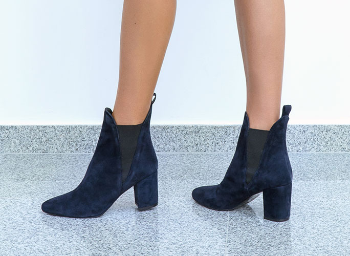 Women's heeled ankle boots